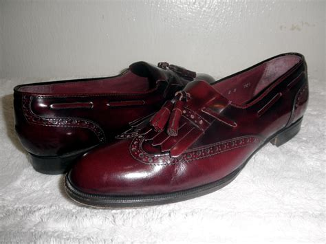 oxblood shoes oxblood brown or black brogues what colour mod shoes