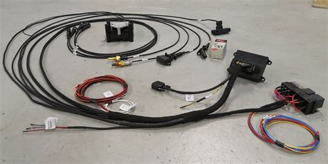 microsquirt ready wiring harness cyl  inclusive