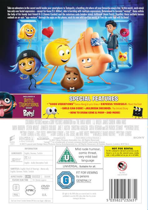 emoji film the the emoji movie dvd zavvi