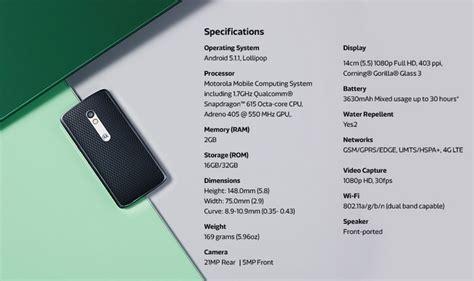 Hp Motorola Moto X harga hp android motorola moto x play dengan kamera 21mp