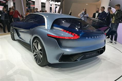 Sports Car Concept by Borgward Sports Car Concept Electric Suv