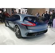 Borgward Isabella Sports Car Concept Electric SUV