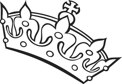 crown template black and white free tiara clip art cliparts co