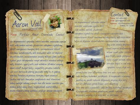 layout design for journal journal website layout by aarondesign on deviantart