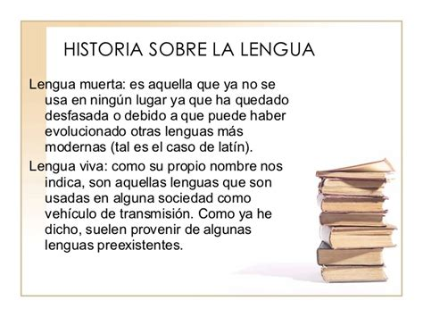 historia de la lengua breve historia de la lengua