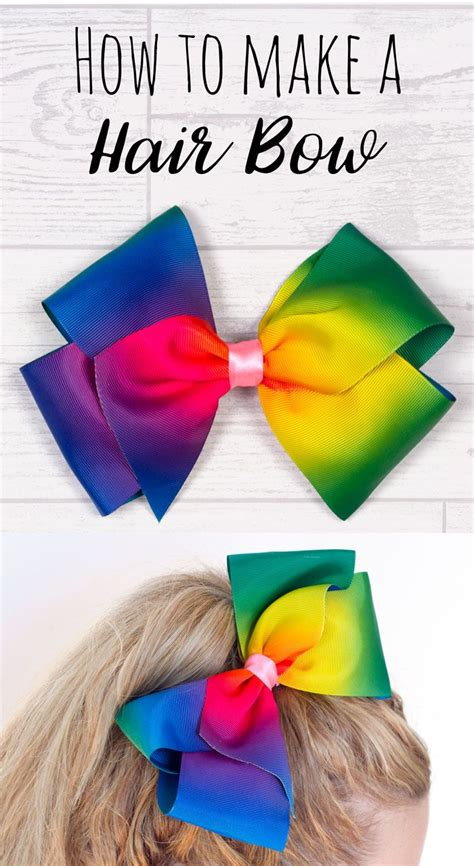 25 best ideas about make a bow on how to make a gift bow gift bow and how to make bows