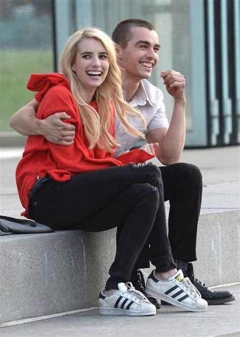 emma roberts and dave franco film saigon is falling at least the size of rapper s posse