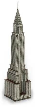 Chrysler Building Dimensions How To Build The Chrysler Building