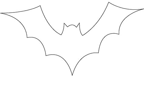 bat template printable bat stencils to print az coloring pages