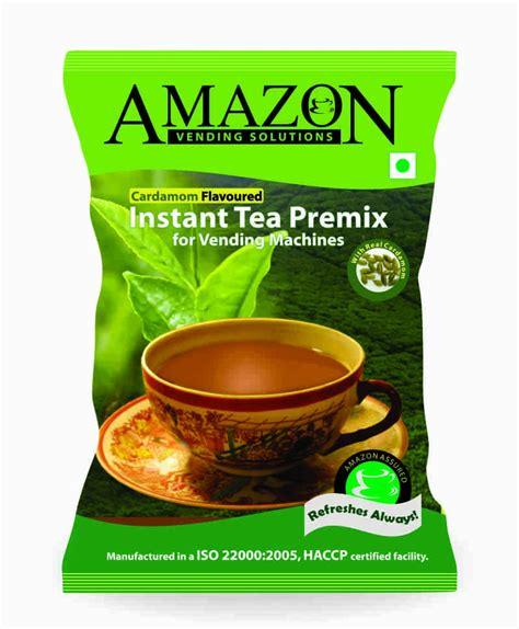 amazon tea amazon instant tea premix cardamom flavour 1 kg vending pack