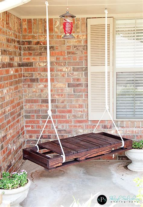 how to make a swing bench recycling diy decor projects using reusable stuff you