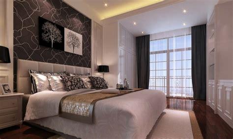 Dormitorios Con Papel Pintado #1: Papel-pintado-pared-cabecero1.jpg