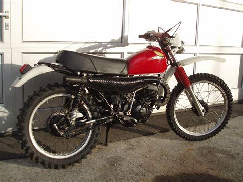 Motorrad F Hrerschein Usa by Honda Mr 175 Elsinore Enduro Usa Moto Huber D 228 Llikon Oldtimer