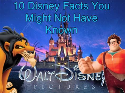 10 Things You May Have Not Known About Minecraft Youtube - 10 disney facts you might not have known for