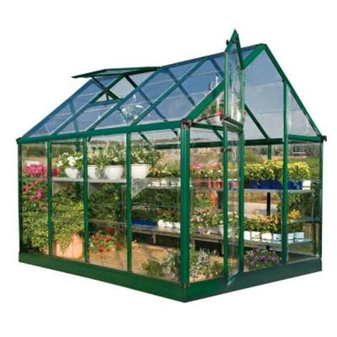 palram green 6 ft x 8 ft greenhouse discontinued 701274