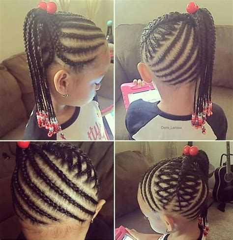 Braid Hairstyles For Ages 5 7 by Braided Hairstyle Fashion