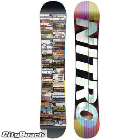tavole da snowboard nitro tavola snowboard uomo times 155 nitro al miglior