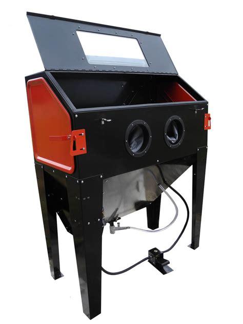 Sandblasting Cabinets by Redline Re48 Abrasive Sand Blasting Cabinet