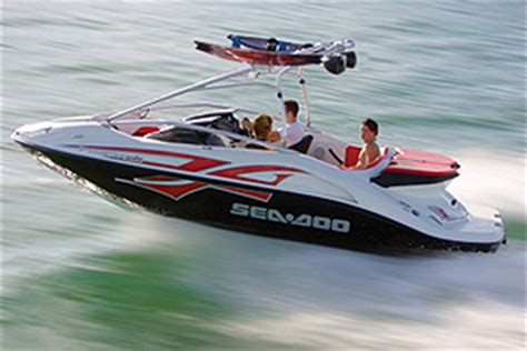 ski doo jet boat sea doo speedster wake jet boat review boats