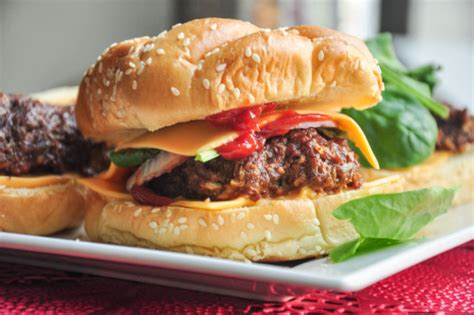 the perfect burger recipe genius kitchen