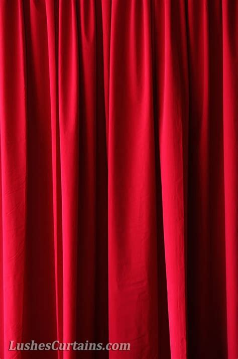 red drape 20 ft long curtain panels 240 inch high curtains