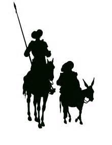 Don quijote y sancho panza silueta tomelloso mi ciudad diciembre 2014
