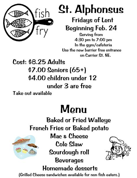 Fish Fry Flyer Faxbb Com Free Fish Fry Flyer Template