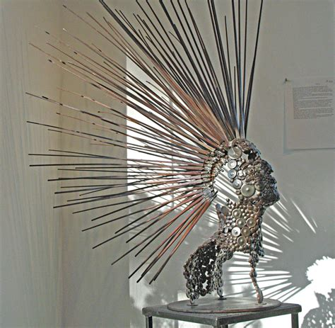 can sculpture sculptor stephen fitz gerald on working with recycled