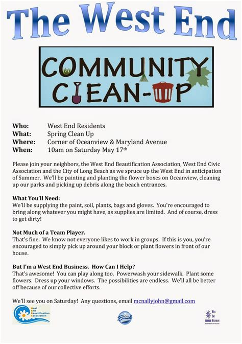 Neighborhood Clean Up Flyer Template Google Search Won T You Be My Neighbour Pinterest Community Flyer Template