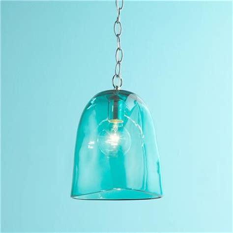 aqua glass pendant light 19 best pendant lights images on pinterest pendant