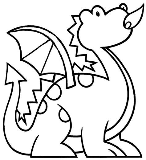 html imagenes agrandar dibujos de dragones para colorear y pintar