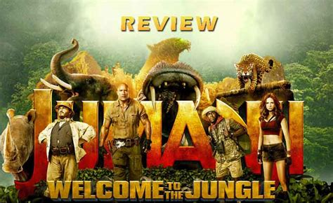 jumanji film review jumanji welcome to the jungle review a one time fun watch