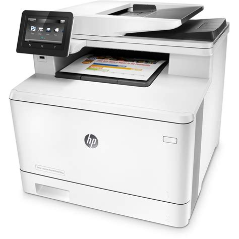 laser printer color hp color laserjet pro m477fnw all in one laser printer cf377a