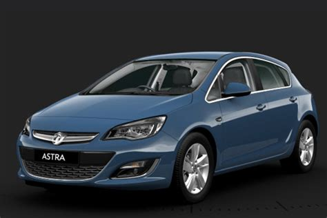vauxhall astra colour guide 2015 carwow