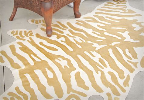 diy zebra rug diy faux zebra rug decor fix