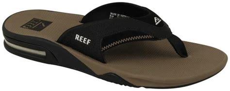 Fanning Black Tobacco Reef reef fanning sandal black tobacco for sale at
