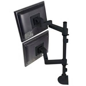 multi monitor desk mount dual computer monitor mount