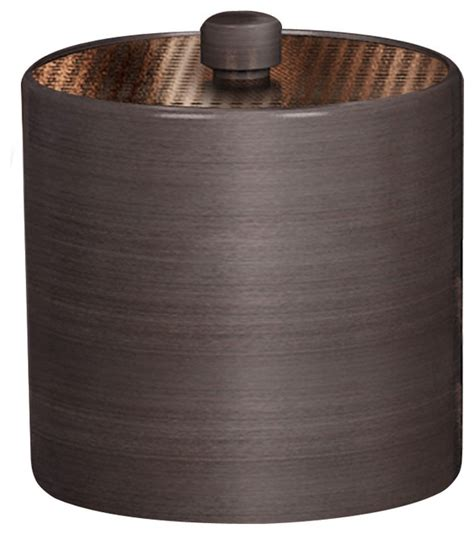 selma rubbed bronze container contemporary kitchen