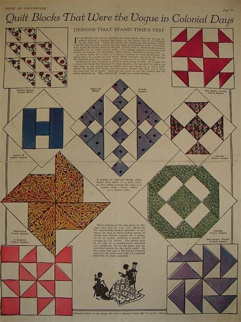 vintage pattern old fashioned vintage quilt block patterns