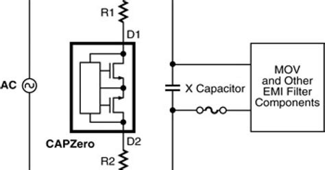 capacitor discharge function x capacitor discharge ics meet iec safety regulations edn