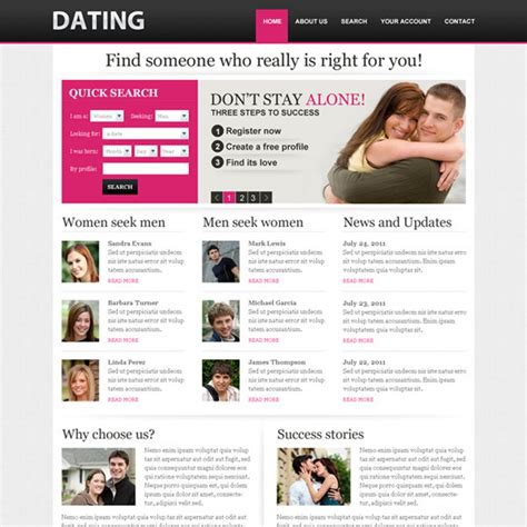 Dating Website Profile Maker Dating Profile Template Generator