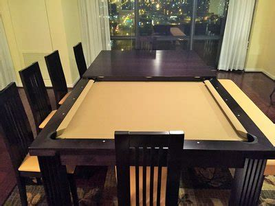 pool table dining room table dining room pool tables by generation chic pool dining