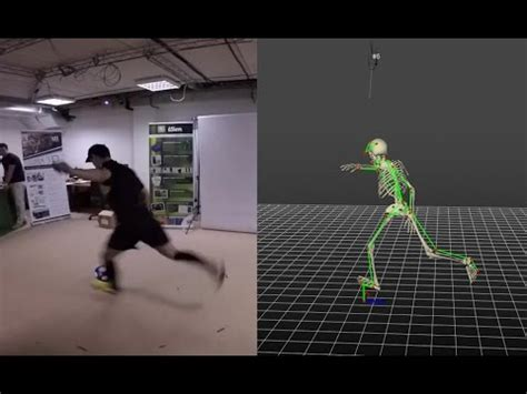 pattern analysis sport soccer 3d motion analysis sports 3dma by stt youtube