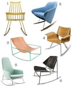 Schaukelstuhl Modernes Design by 30 Modern Rocking Chairs