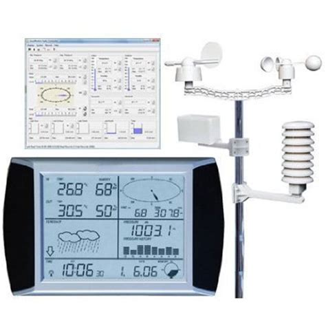 dr tech wh1080pc wireless home weather station w data
