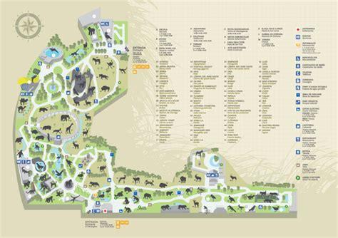 barcelona zoo map zoos barcelona zoo