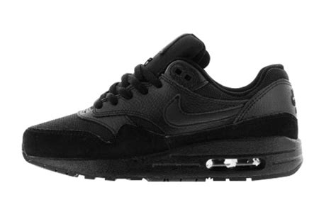 Nike Air Max One Black nike air max one all black curated by your black book