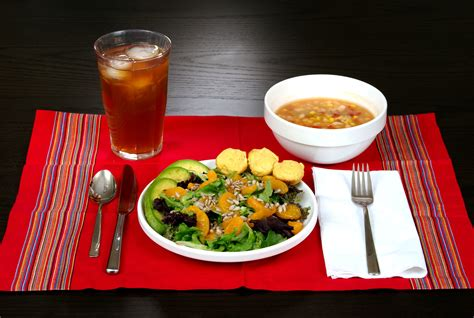 picture healthy meal nutrient ingredients corn bean soup