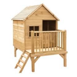 cabane enfant en bois 224 peindre winny 190x120x200 cm
