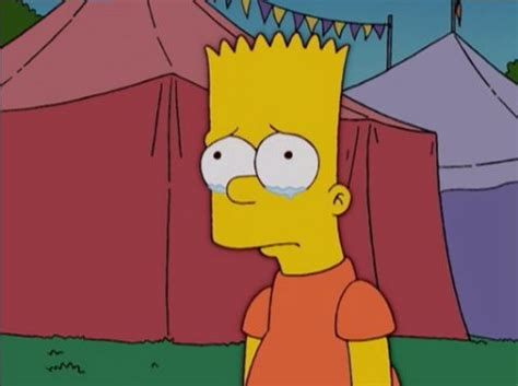 Imagenes Sad Simpsons | bart simpson sad quotes quotesgram
